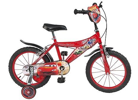 Toimsa 738 Cars Bicicletta Per Bambino Dimensioni 16 Da 5 A 8 Anni