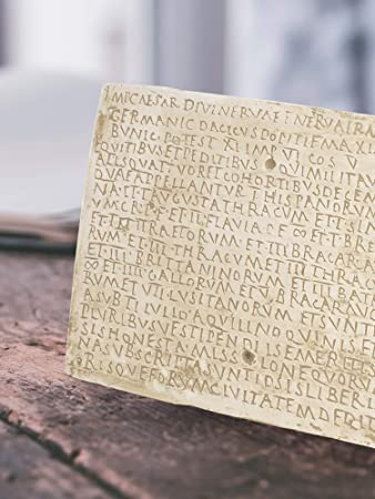 Forum Traiani Relief – Diploma Militar de Weißenburg, decoración de Pared Antigua Romano, replicación arqueológica del Museo, la Antigua Roma