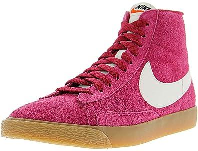 super popular f33b9 785f5 ... low price amazon nike womens blazer mid suede vintage high top fashion  sneaker running 5bda3 632d0
