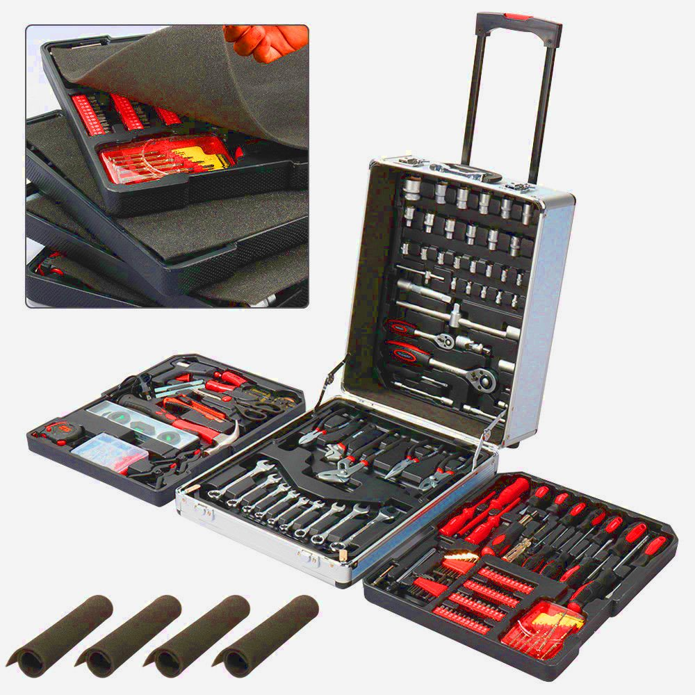 Mechanic Tool Set Box Kit Home Car Repair Hand Tool Hand Set Hand Tool Kit Large Basic Household Hand Tool Set of Hand Tools Mechanic & Ebook by Easy2Find by STS SUPPLIES LTD