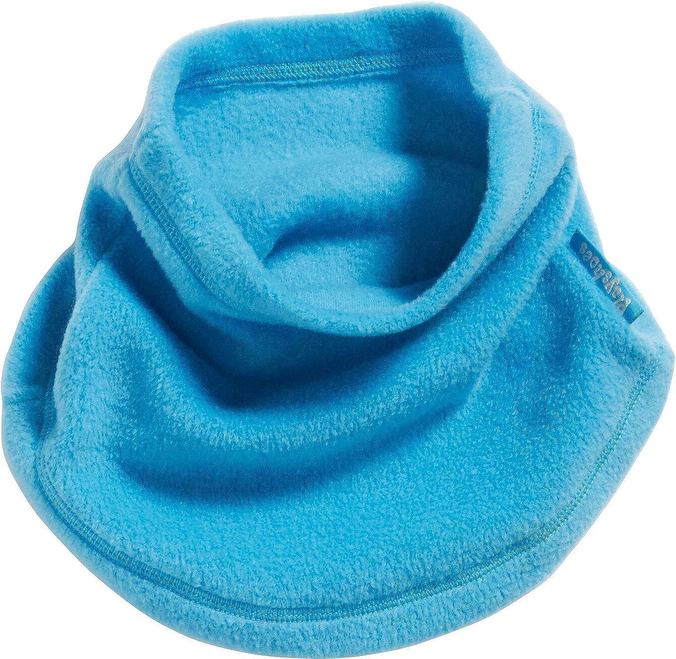 gr/ün one size Playshoes Boys Fleece-Schlauchschal softer Rundschal geeignet f/ür kalte Tage