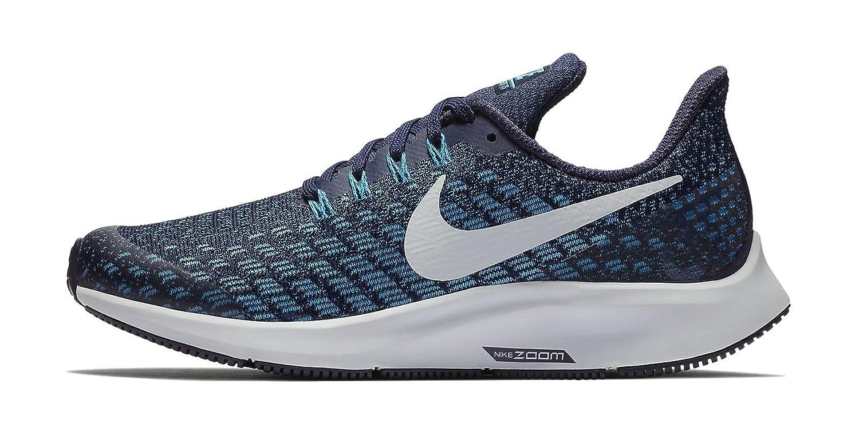 check out e21e8 a20e2 Nike Air Zoom Pegasus 35 (GS) - Blackened Blue Pure B Platine  Amazon.fr   Sports et Loisirs