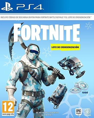 Fortnite: Lote De Criogenización (La caja contiene código de ...