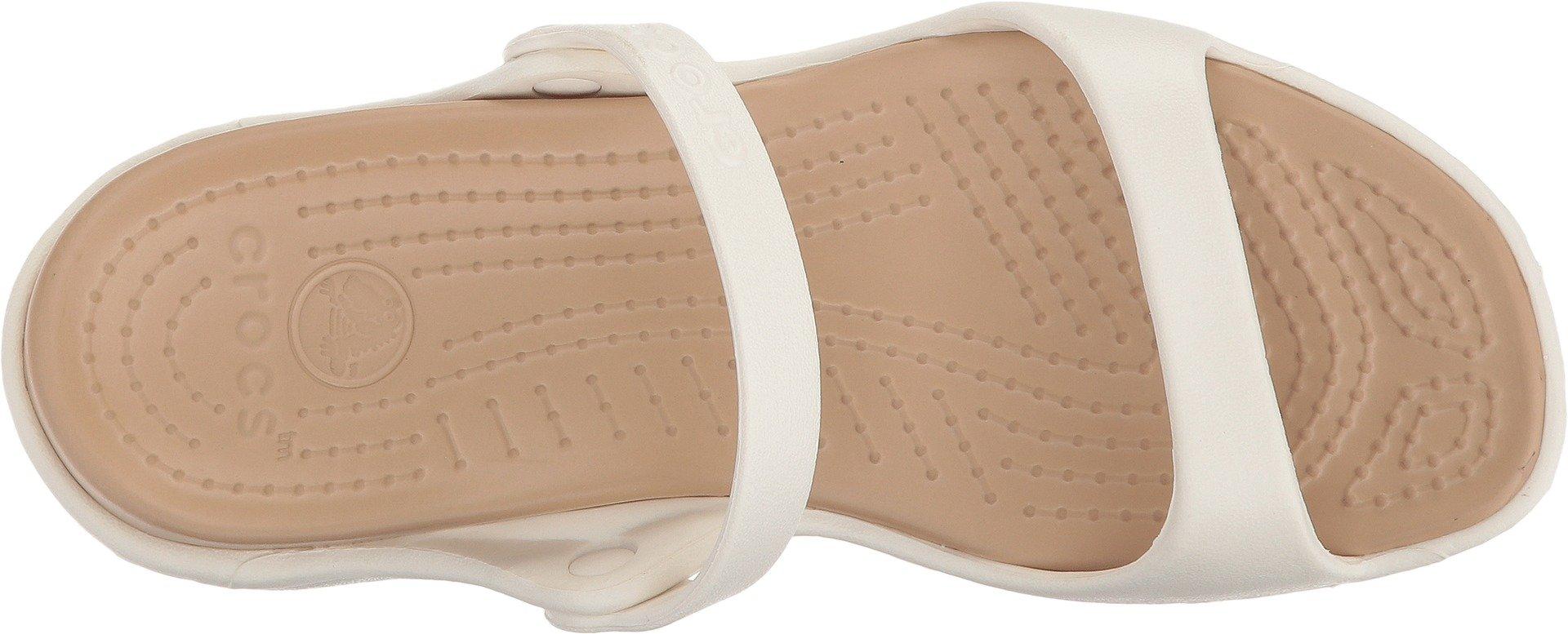 22aaf981dc66 Crocs Women s Cleo Flat Sandal