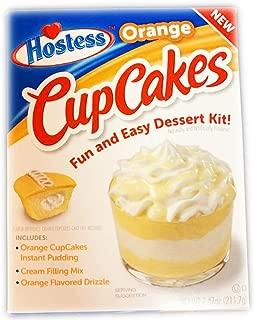 product image for Hostess Orange Cupcake Pudding Dessert Kit 7.47 oz! Orange Cupcake Instant Pudding Mix! Cream Filling Mix! Orange Flavored Drizzle! No Bake, Fun & Easy Dessert! Choose Your Pudding Dessert! (Cupcake)