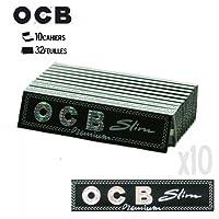 Feuille à Rouler - Lot DE 10 Carnet OCB Slim Premium Cigarette