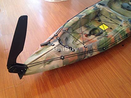 Glass Nylon Fiber Watercraft Canoe Kayak Boat Rudder With Steering system