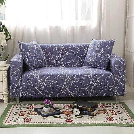 Fundas De Sofa Ajustables,Funda de sofá elástica geométrica ...
