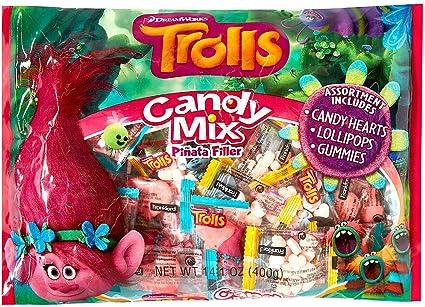 Amazon.com: HollyDel Trolls - Relleno de pinata; novedosos ...
