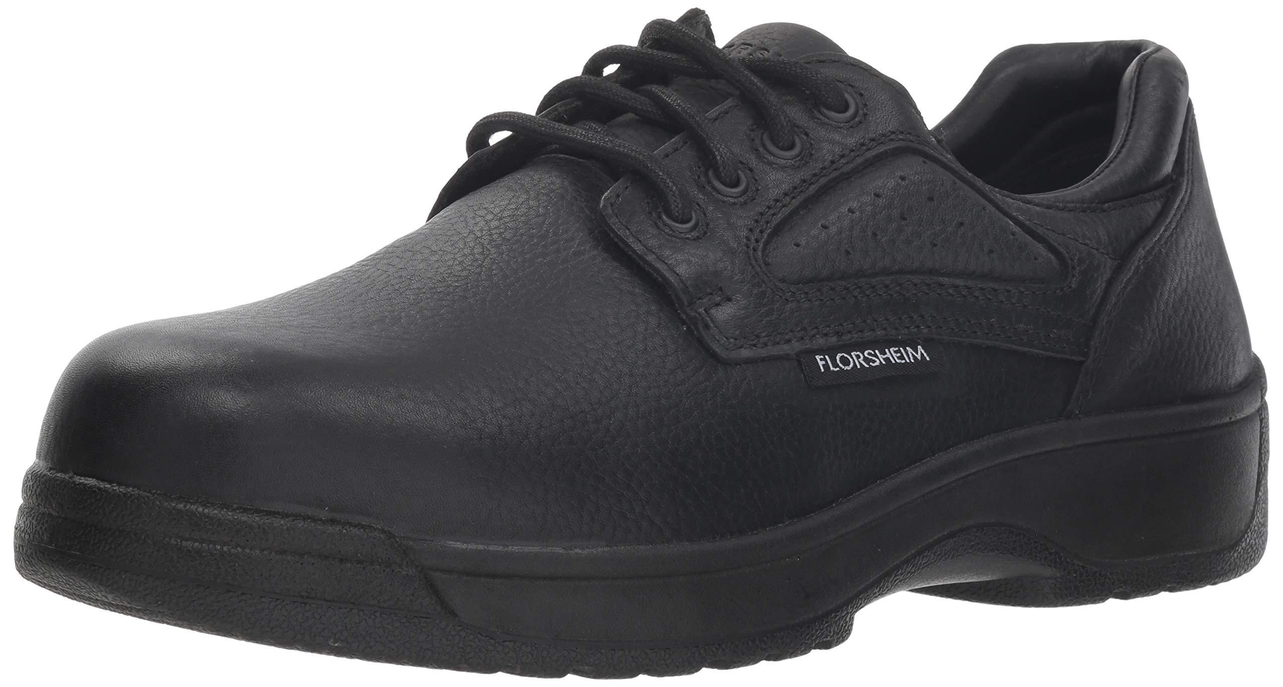 Florsheim Work Men's Work Fiesta FS2416 Work Shoe, Black, 14 D US