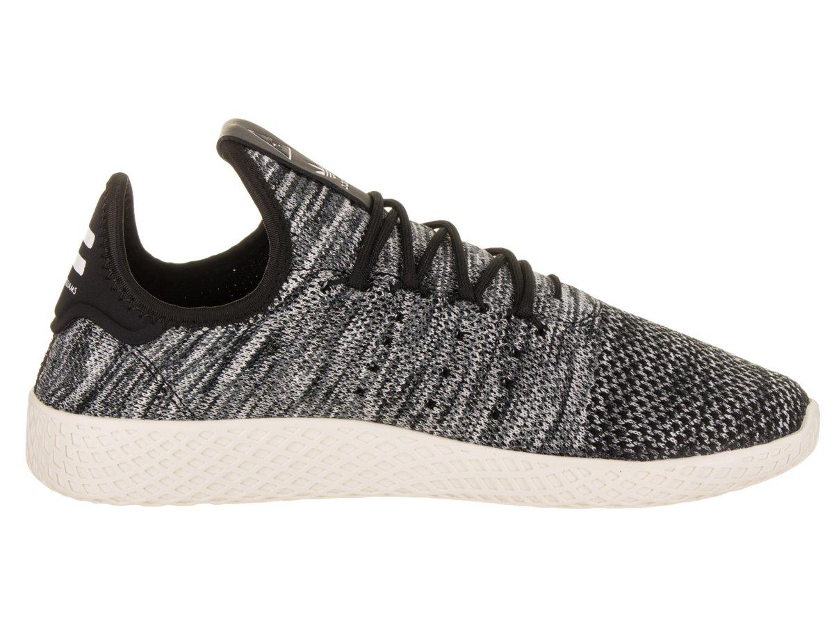 adidas Men's Pw Tennis D(M) Hu Sneaker B079YX16T6 11 D(M) Tennis US|Black / White c200b9