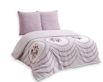 Bettwäsche 200x200 Baumwolle Bettgarnitur Mit Reißverschluss 3 Teilig L A7578