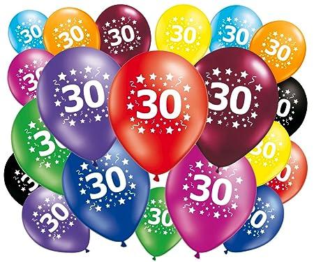 FABSUD 20 Globos cumpleaños 30 años