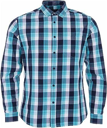 Tiffosi Travis, Camisa Cuadros Para Hombre, Azul (Blue), XL: Amazon.es: Ropa y accesorios