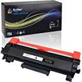 Arthur Imaging WITH CHIP Compatible Toner Cartridge Replacement for Brother TN760 TN 760 TN730 to use with HL-L2350DW HL-L2395DW HL-L2390DW HL-L2370DW MFC-L2750DW MFC-L2710DW DCP-L2550DW (Black 1Pack)