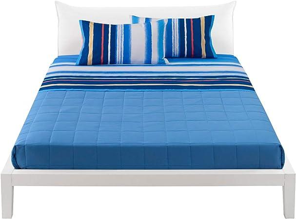 Bassetti - Juego de sábanas para cama de matrimonio (100% algodón, sábana bajera + encimera + 2 fundas de almohada Aragon): Amazon.es: Hogar