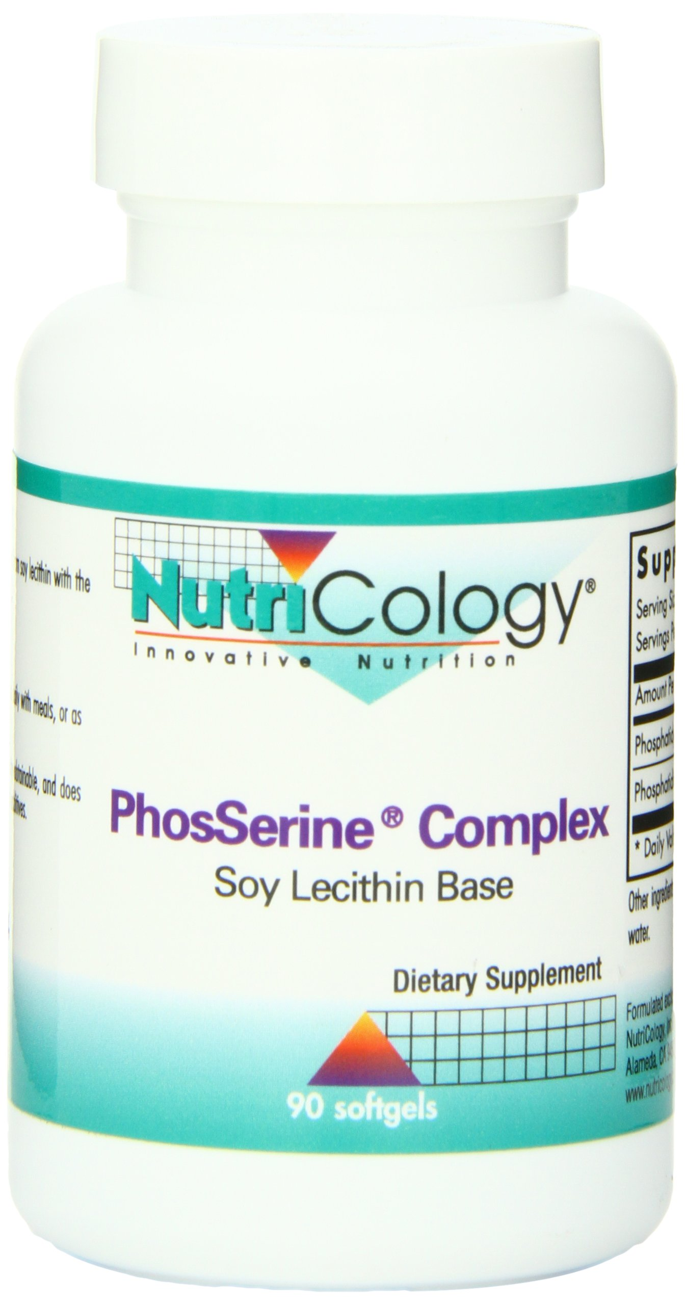 Nutricology Phosserine Complex, Softgels, 90-Count