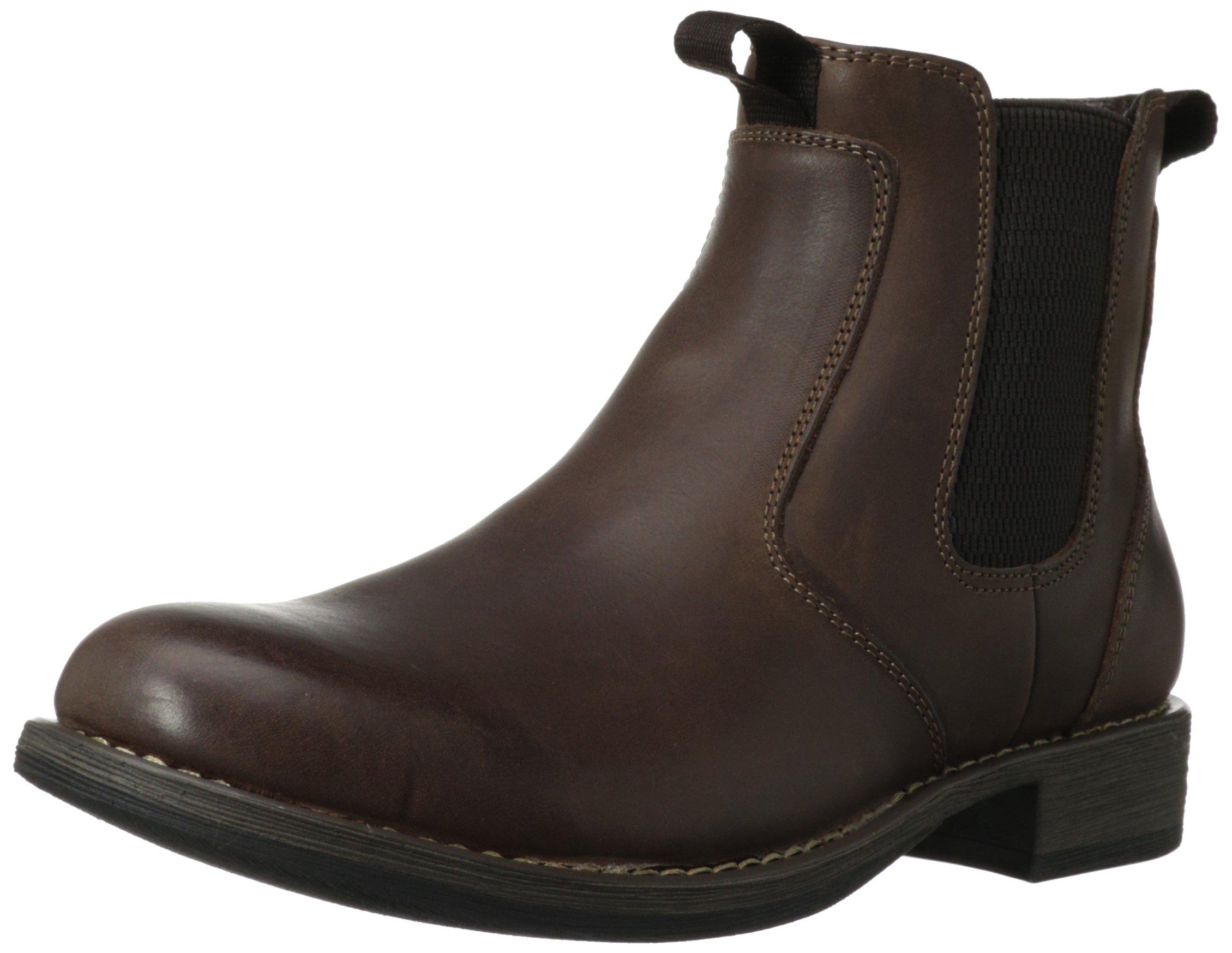 Eastland Men's Daily Double Chelsea Boot, Dark Brown, 8.5 D US