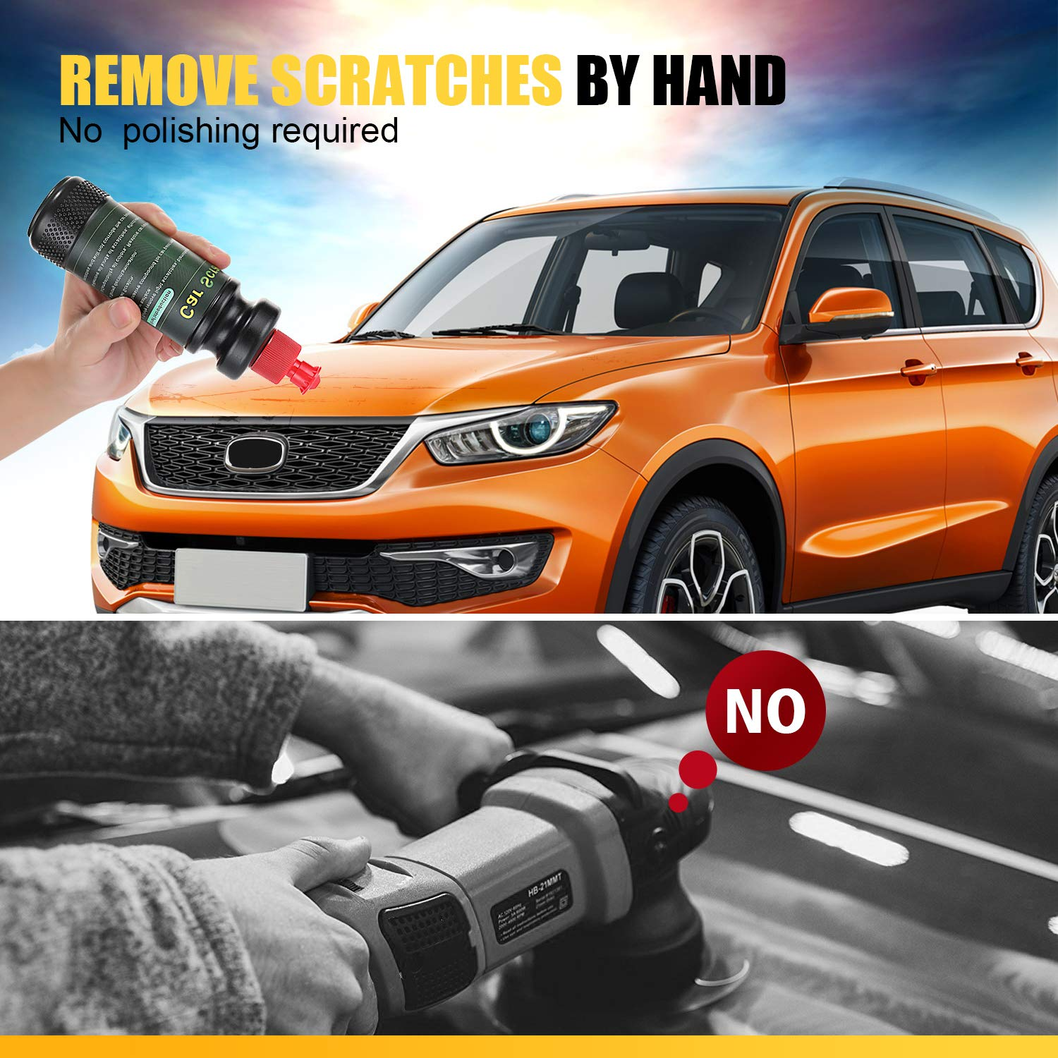 KUWAN Car Scratch Remover - Scratch Removal for Automobile - Paint Remover - Remove Scratches- Scratching Glass Stain Removal /Polish - Restore Blemishes to Repair Vehicle Surface by KUWAN (Image #6)