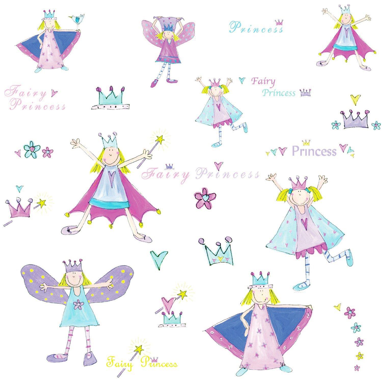 Vinilo Decorativo Pared [00GL2FRO] princesas