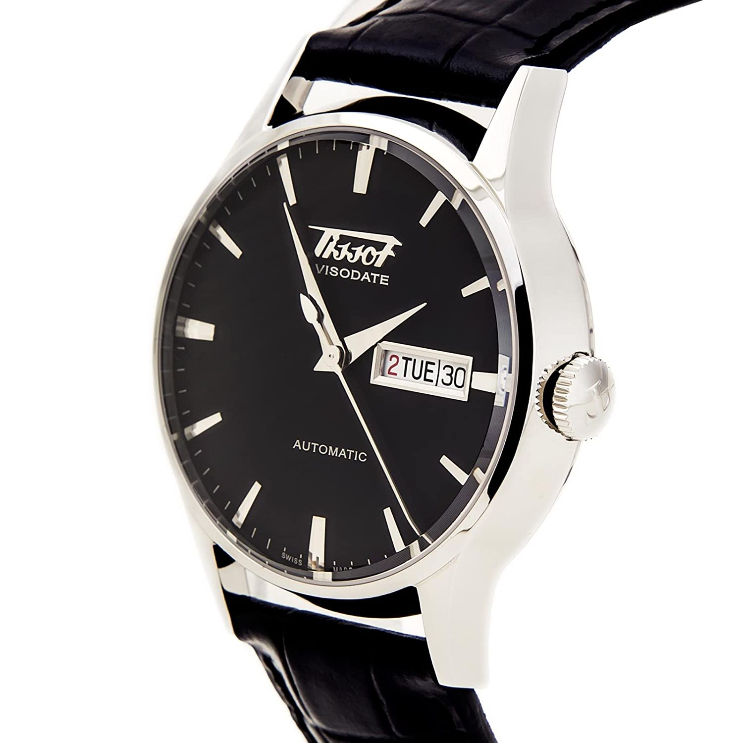 d3ce27d80 Tissot Men's Visodate Automatic Black Watch: Tissot: Amazon.ca: Watches