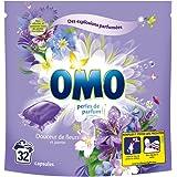 Omo Lessive Capsules Douceur De Fleurs Et Jasmin 32 Dosettes - Lot de 2