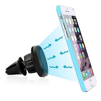 Miss-an Support Voiture Magn/étique /à Grille da/ération Support Ventouse T/él/éphone Voiture Universel pour iPhone 5s 7 6 8 X Samsung Xiaomi