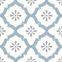 WallPops FP2943 Alfama - Azulejos de suelo autoadhesivos