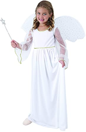 Disfraz ángel blanco niña - 4 - 6 años