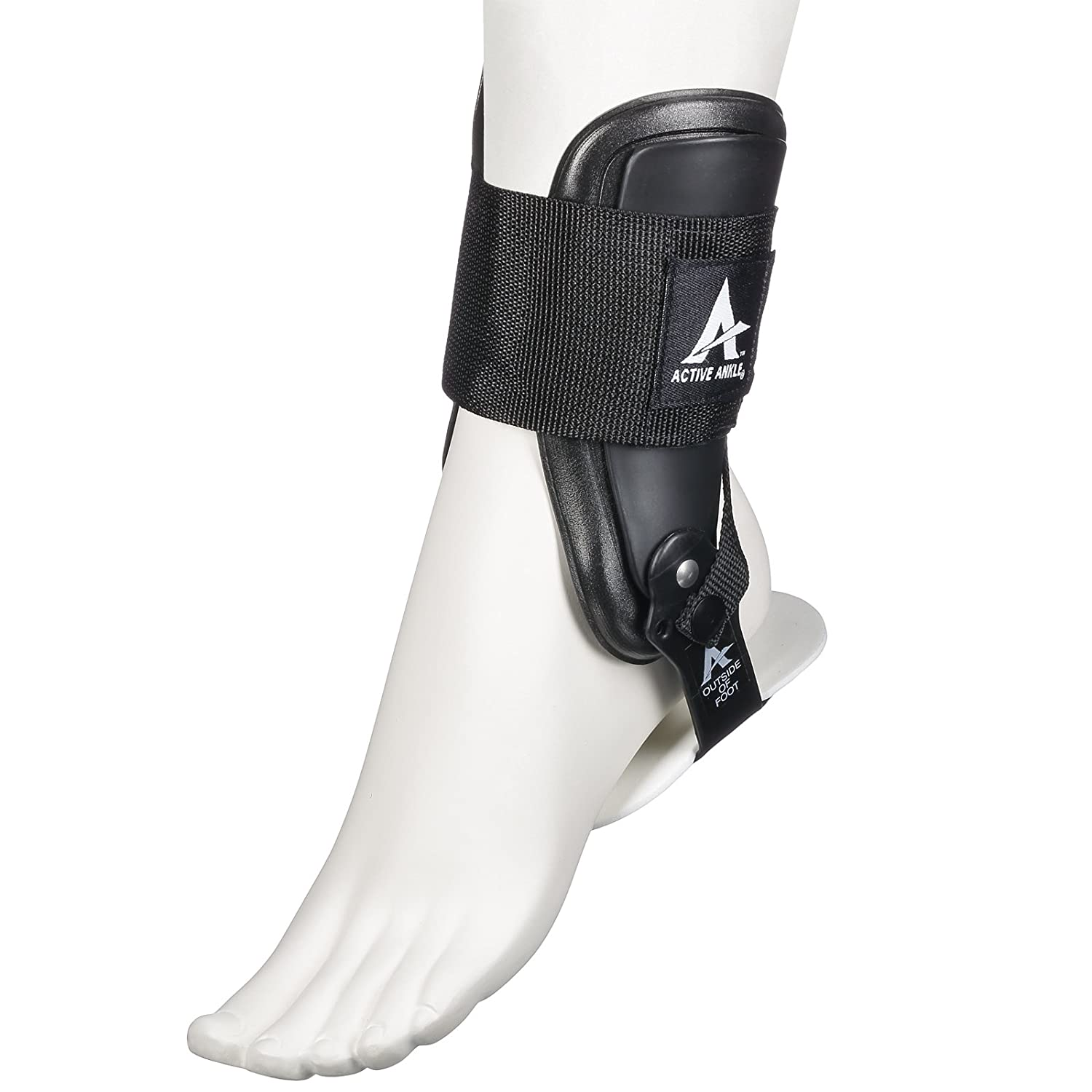 Active Ankle T2 Ankle Brace, Rigid Ankle...