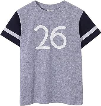 Gocco Oxford Crew Balnca Camiseta para Niños