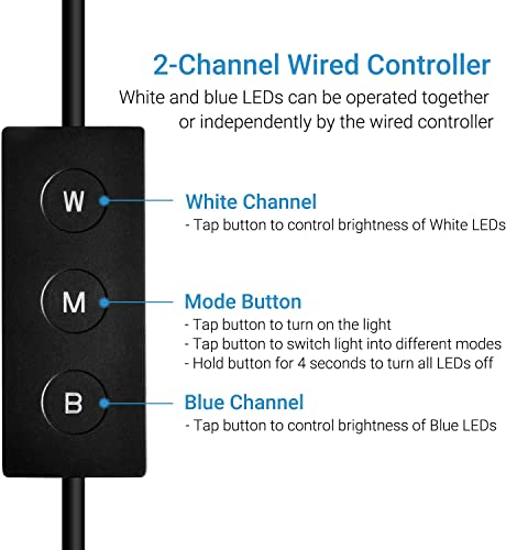 Two channel wired controller