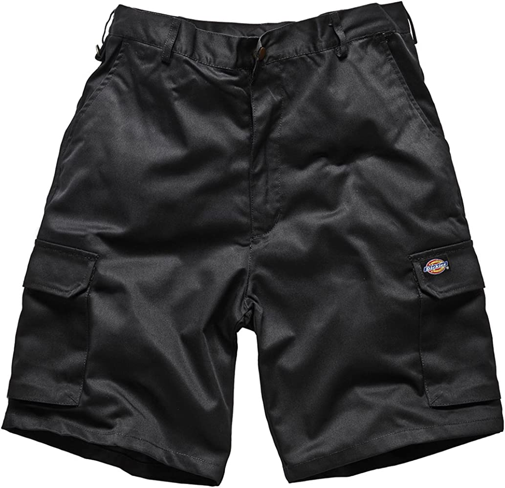 Dickies Redhawk Cargo Work Shorts Men/'s Black /& 1 Pair of Boot Socks