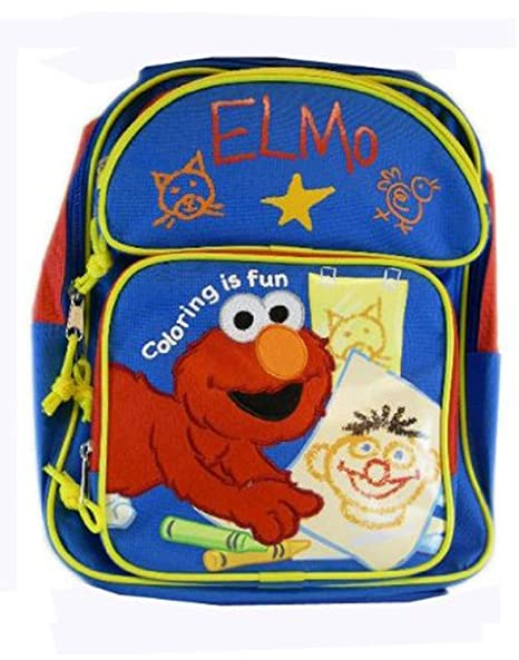 afa97d387055 Image Unavailable. Image not available for. Color  Sesame Street Elmo  Backpack - Kid ...