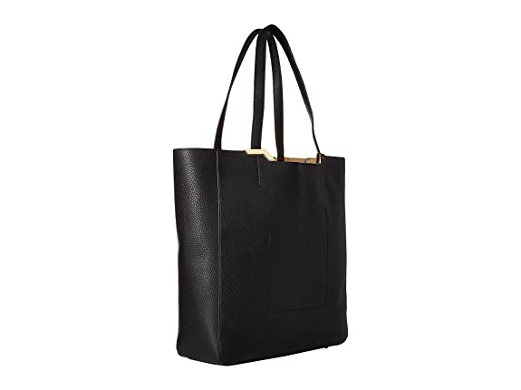 98f52c3ad769 Ralph Lauren Ladies Leather Womens Bag Acadia Tote Shoulder Black Designer  Gift  Amazon.co.uk  Shoes   Bags