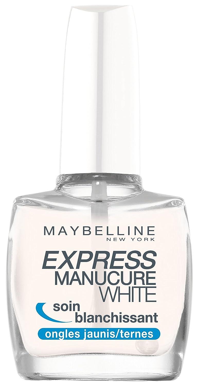 Gemey Maybelline, Express Manicure Base Coat White, trattamento sbiancante 05YFR14804