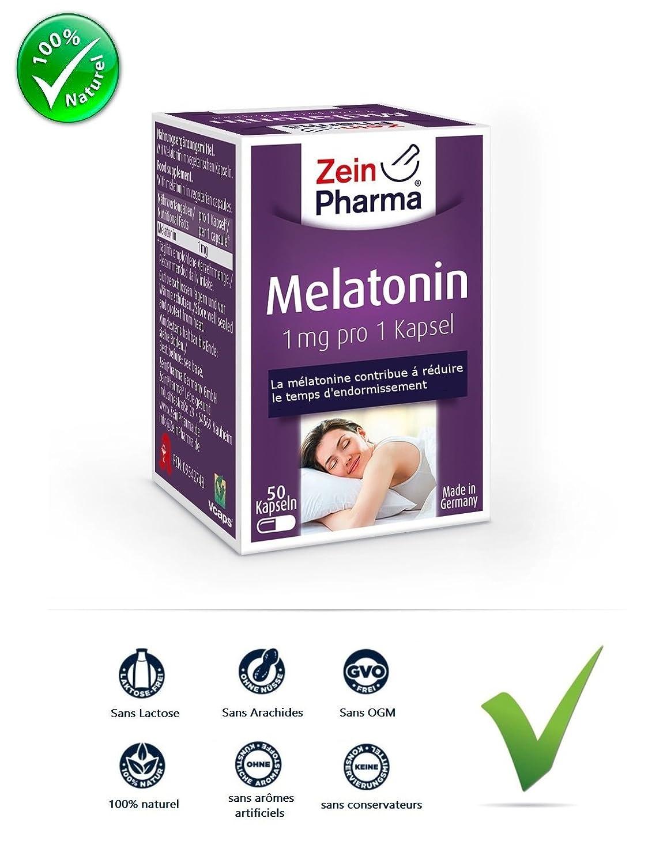 Melatonina 1 Mg por gélule| la melatonina una solución natural ...