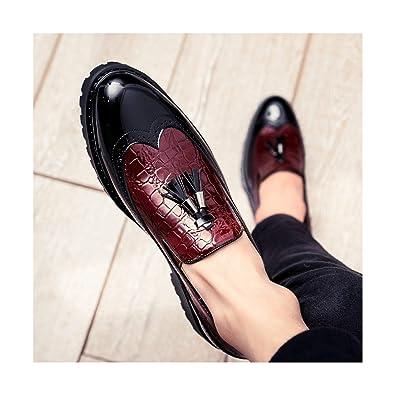 Amazon com | FJ-Direct 2019 Men Casual Shoes Breathable Leather