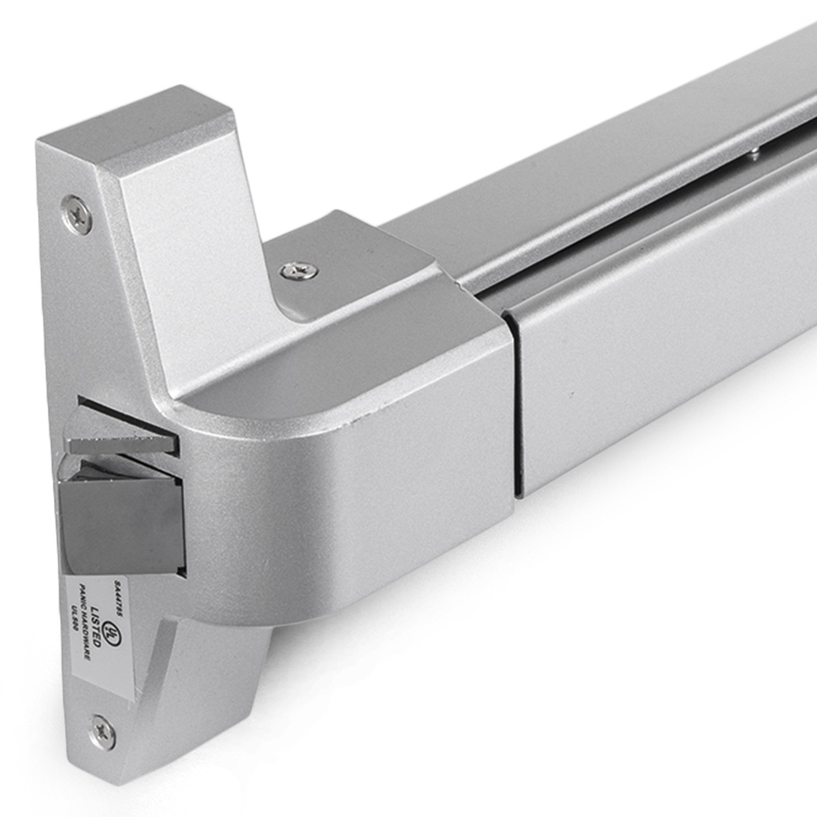 Happybuy Door Push Bar Panic Exit Device with Dogging Key and Exterior Lever Commercial Emergency Exit Bar Panic Exit Device for Wood Metal Door Panic Exit Bar (Push bar with Dogging Key and Lever) by Happybuy (Image #10)