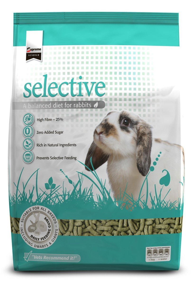 Supreme Petfoods Science Selective Rabbit food Su-Bridge Pet Supplies Ltd 07SSR3