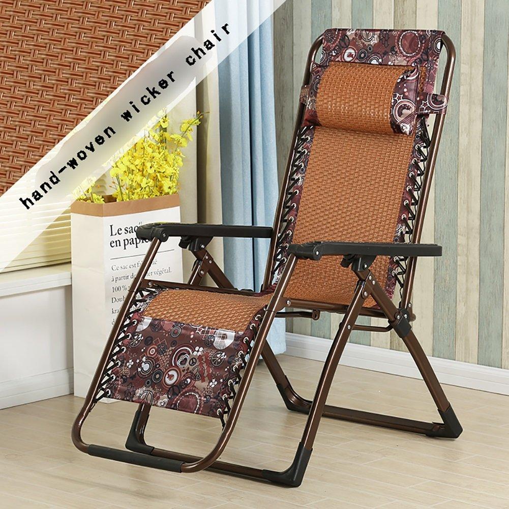 夏のクールチェア折りたたみチェアデッキチェア折りたたみランチブレークチェアアダルトラウンジチェア家庭用背もたれの椅子 (色 : Style2)  Style2 B07DMT5W4Z