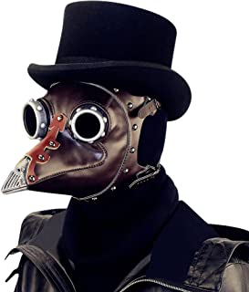 RONSHIN Funny Unique Plague Bird Mouth Doctor Mask for Halloween Cospaly Party Fancy Dress Ball