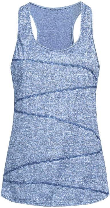 Luckycat Camisetas Básica para Mujer IR a Gimnasio Fitness Deportes Yoga Camiseta Mujer Camiseta Mujer Interior Camiseta de Tirante sin Mangas Correas Camiseta de Tirantes: Amazon.es: Ropa y accesorios
