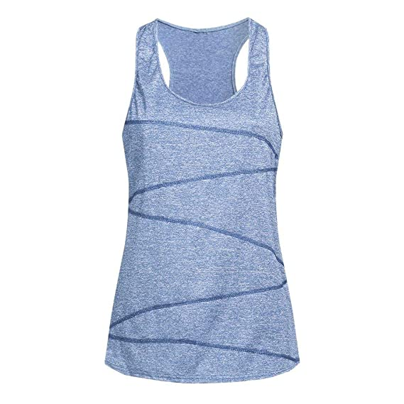 Luckycat Camisetas Básica para Mujer IR a Gimnasio Fitness ...