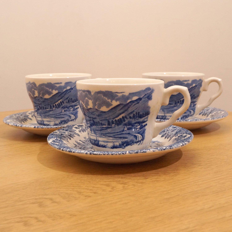 Amazon.com: EIT LTD 12 (6+6) pieces tea set || English Ironstone Ltd ...