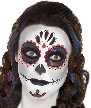 NET TOYS Maquillaje máscara Calavera Mexicana Pintura Sugar Skull ...