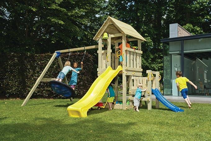 Klettergerüst Cleverclimber Club Xxl : Spielturm kiosk blue rabbit 2.0 podesthöhe 120cm mit rutsche 240