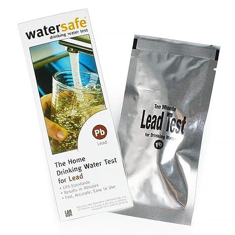 Watersafe Agua Kit De Prueba para plomo: Amazon.es: Hogar