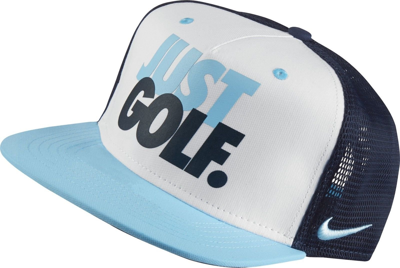 Nike Boys' True Novelty Golf Hat, (Midnight Navy/White, OneSize)