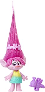 DreamWorks Trolls Poppy Collectible Figure with Critter